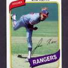 1980 Topps Baseball #369 Jim Kern - Texas Rangers