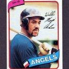 1980 Topps Baseball #368 Willie Aikens RC - California Angels
