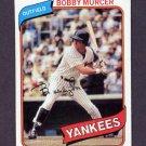1980 Topps Baseball #365 Bobby Murcer - New York Yankees NM-M