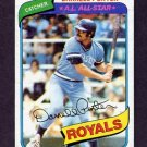 1980 Topps Baseball #360 Darrell Porter - Kansas City Royals Ex