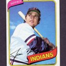 1980 Topps Baseball #333 Jim Norris - Cleveland Indians