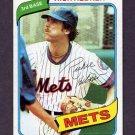1980 Topps Baseball #331 Rich Hebner - New York Mets