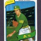 1980 Topps Baseball #316 Bob Lacey - Oakland A's