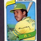 1980 Topps Baseball #284 Larry Murray RC - Oakland A's