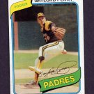1980 Topps Baseball #280 Gaylord Perry - San Diego Padres Vg