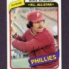 1980 Topps Baseball #270 Mike Schmidt - Philadelphia Phillies