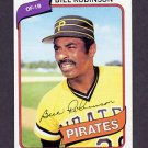 1980 Topps Baseball #264 Bill Robinson - Pittsburgh Pirates Ex