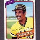 1980 Topps Baseball #264 Bill Robinson - Pittsburgh Pirates NM-M