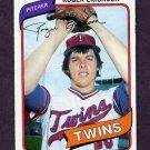 1980 Topps Baseball #256 Roger Erickson - Minnesota Twins NM-M