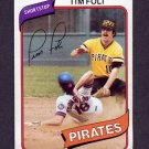 1980 Topps Baseball #246 Tim Foli - Pittsburgh Pirates Ex
