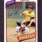 1980 Topps Baseball #246 Tim Foli - Pittsburgh Pirates NM-M