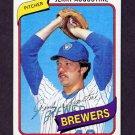 1980 Topps Baseball #243 Jerry Augustine - Milwaukee Brewers