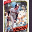 1980 Topps Baseball #237 Scott McGregor - Baltimore Orioles