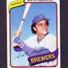 1980 Topps Baseball #215 Sixto Lezcano - Milwaukee Brewers
