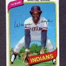 1980 Topps Baseball #208 Wayne Cage - Cleveland Indians