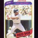 1980 Topps Baseball #200 Jim Rice - Boston Red Sox Ex