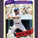 1980 Topps Baseball #200 Jim Rice - Boston Red Sox NM-M