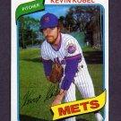 1980 Topps Baseball #189 Kevin Kobel - New York Mets