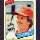 1980 Topps Baseball #187 Alan Ashby - Houston Astros ExMt