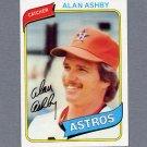 1980 Topps Baseball #187 Alan Ashby - Houston Astros NM-M