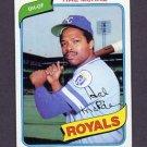 1980 Topps Baseball #185 Hal McRae - Kansas City Royals NM-M