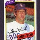 1980 Topps Baseball #184 Steve Renko - Boston Red Sox