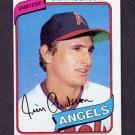 1980 Topps Baseball #183 Jim Anderson - California Angels