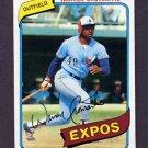 1980 Topps Baseball #180 Warren Cromartie - Montreal Expos NM-M