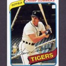 1980 Topps Baseball #176 Champ Summers - Detroit Tigers NM-M