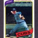 1980 Topps Baseball #175 Rick Reuschel - Chicago Cubs
