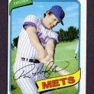 1980 Topps Baseball #172 Ron Hodges - New York Mets ExMt