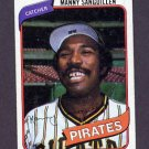 1980 Topps Baseball #148 Manny Sanguillen - Pittsburgh Pirates Vg