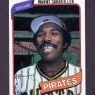 1980 Topps Baseball #148 Manny Sanguillen - Pittsburgh Pirates NM-M