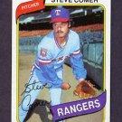 1980 Topps Baseball #144 Steve Comer - Texas Rangers NM-M
