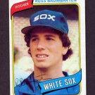 1980 Topps Baseball #138 Ross Baumgarten - Chicago White Sox
