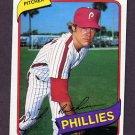 1980 Topps Baseball #136 Dick Ruthven - Philadelphia Phillies