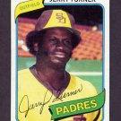 1980 Topps Baseball #133 Jerry Turner - San Diego Padres