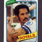 1980 Topps Baseball #130 Amos Otis - Kansas City Royals