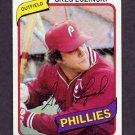 1980 Topps Baseball #120 Greg Luzinski - Philadelphia Phillies Vg