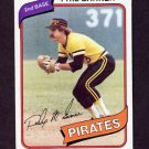 1980 Topps Baseball #118 Phil Garner - Pittsburgh Pirates