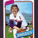 1980 Topps Baseball #105 Frank Tanana - California Angels NM-M