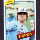 1980 Topps Baseball #097 Bill Lee - Montreal Expos NM-M