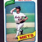 1980 Topps Baseball #094 Neil Allen RC - New York Mets