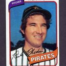 1980 Topps Baseball #092 Rick Rhoden - Pittsburgh Pirates NM-M
