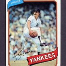 1980 Topps Baseball #089 Don Hood - New York Yankees