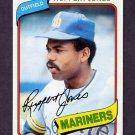 1980 Topps Baseball #078 Ruppert Jones - Seattle Mariners