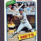 1980 Topps Baseball #076 John Stearns - New York Mets ExMt