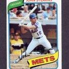 1980 Topps Baseball #076 John Stearns - New York Mets NM-M