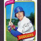 1980 Topps Baseball #075 Bill Russell - Los Angeles Dodgers NM-M