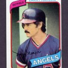 1980 Topps Baseball #068 Larry Harlow - California Angels